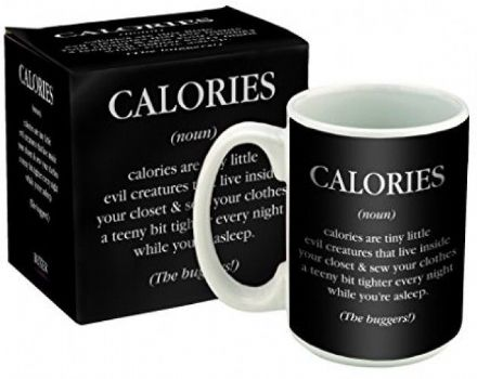 Calories Definition Funny Novelty Mug